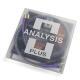Кабель межблочный аналоговый RCA Analysis-Plus Solo Crystal Oval 0.5 m